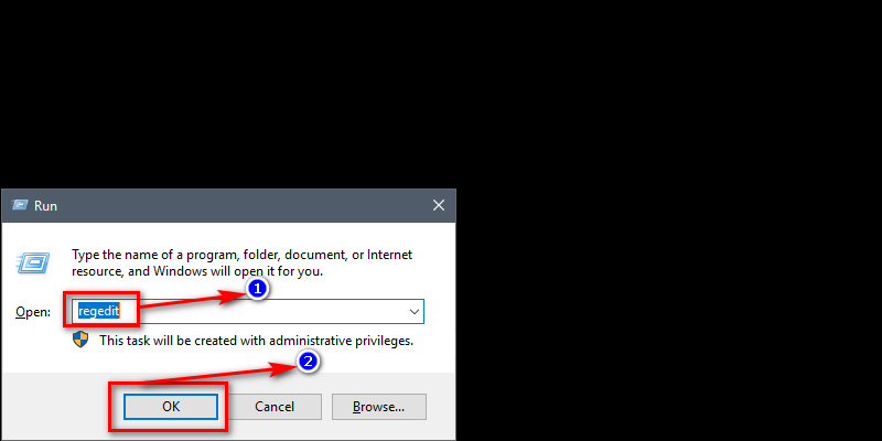 How to fix Service Registration is Missing or Corrupt Error on Windows 10