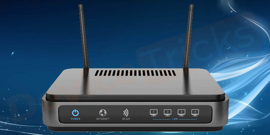 Check Router to fix Err_Connection_Reset error in Chrome