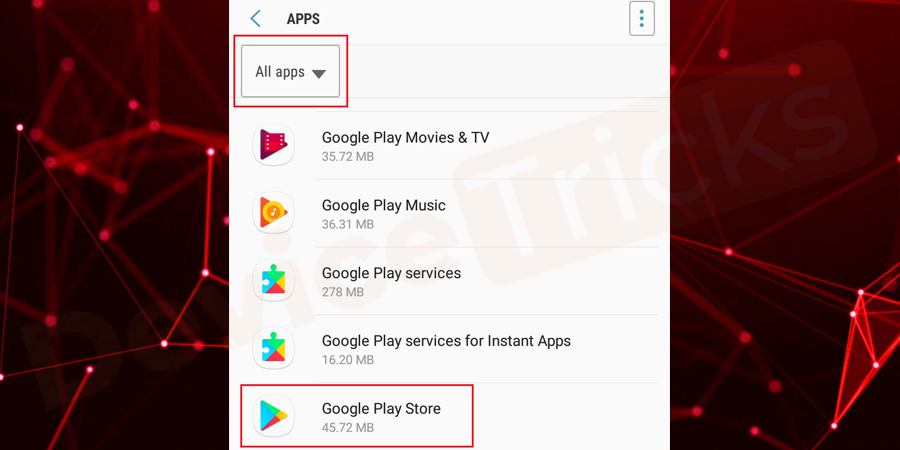 Now, scroll down the page to get Google Play Services.