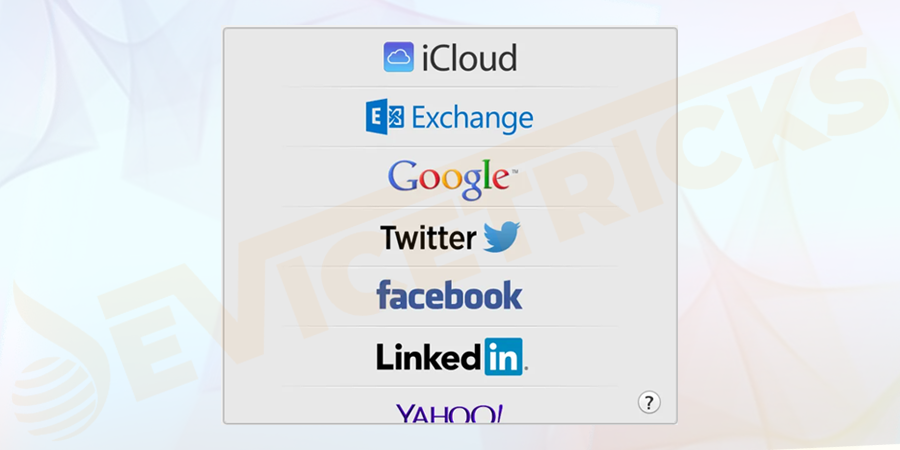Change passwords to all the internet accounts that are available on your lost device.