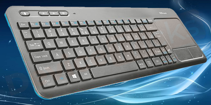 Check the power switch of the wireless keyboard