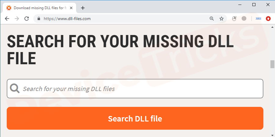 While downloading the DLL file choose the entrusted site to stay safe from malware or virus entering your system through that file.