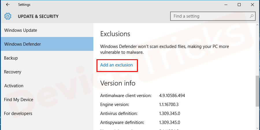 Go to the settings section of Antivirus and exclude Steam files from scanning