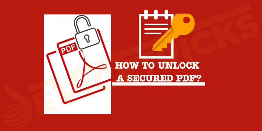 How can I remove the password from a password-protected PDF?