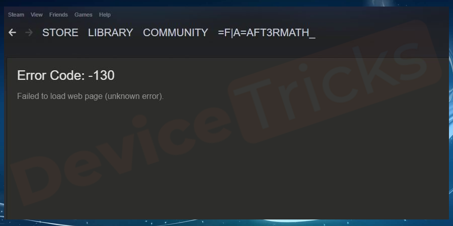 How to Fix Steam Store page Not Loading Problem?
