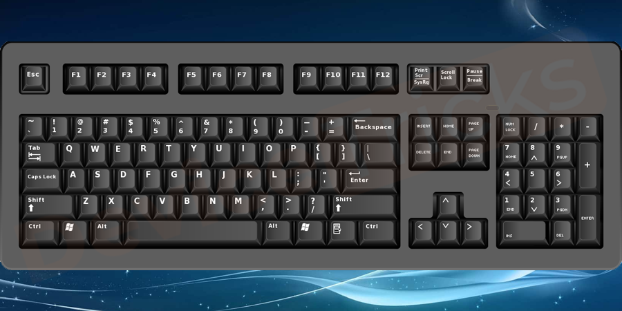 Why are the Keyboard keys not working?