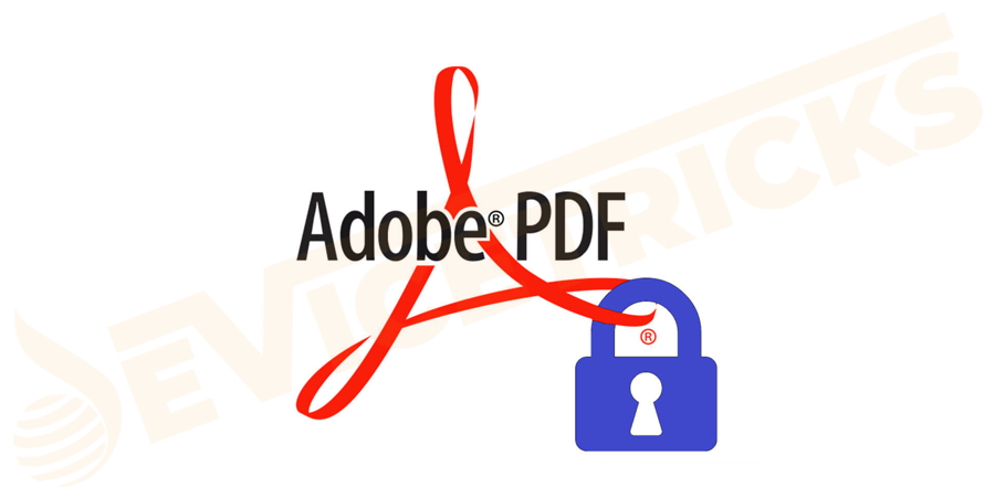What is a password protected PDF?