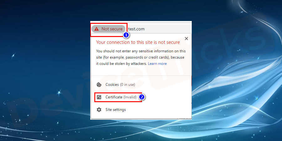 Disable VPN and Antivirus Temporarily