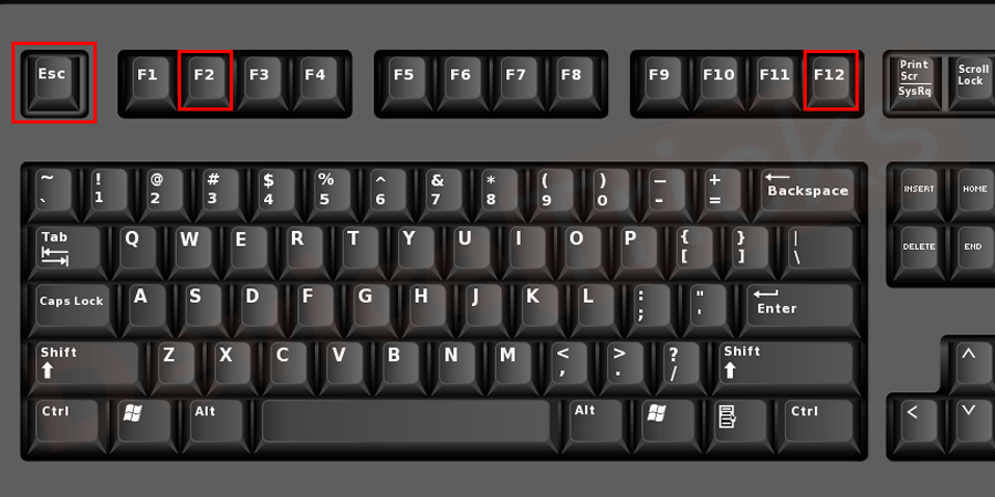 "Press ""F2"" key or any other keys to Enter the BIOS settings."