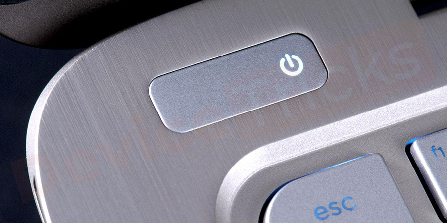 If you get the Login panel in the display, then press the Power button to turn off the PC completely.