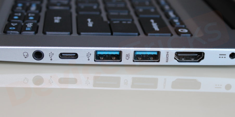 Try different ports to connect your USB Device
