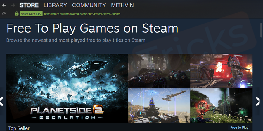 Launch Steam, make sure you have logged-in.