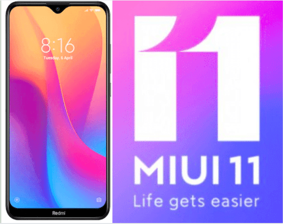 MIUI 11 Stable Update Available in India for Xiaomi's Redmi 8 and Redmi 8A Users[How to Install]