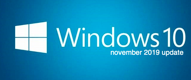 Windows 10 Features Removed or Deprecated in Nov 2019 Update V 1909