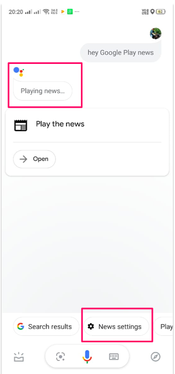 Google Assistant Gets 'Your News Update' Feature to Read Out Your News Feed