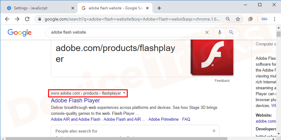 Visit the Adobe Flash website and upgrade to the latest version.