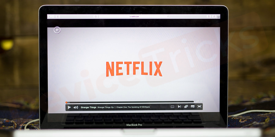 Logout and Login again to Netflix Application