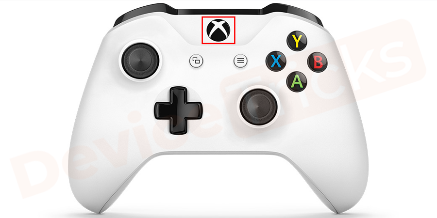 Press the Home button to turn off the Console and the button is located at the front of the controller and is symbolized with X mark.