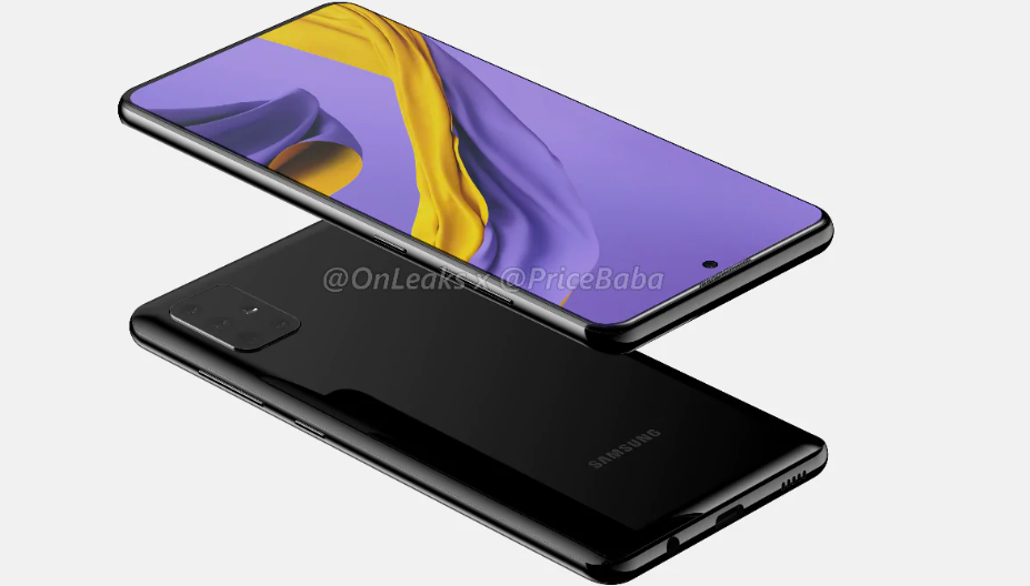Samsung Galaxy A51 Leaked Renders Reveal its Design and Quad-Camera Setup