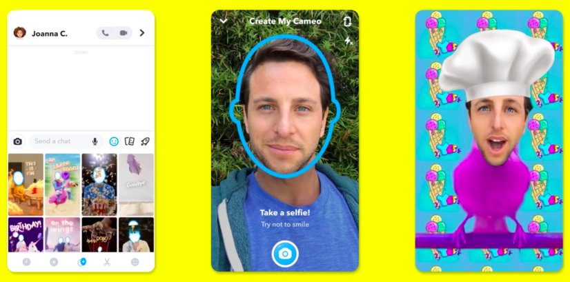 Snapchat Releasing Deepfake 'Cameo' feature to Edit Your Face into GIFs