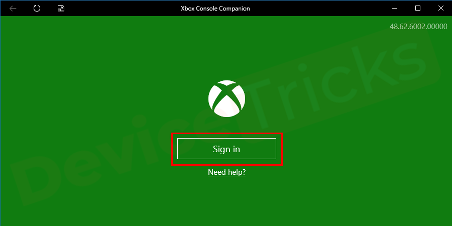 Windows will automatically sign you into the Xbox app otherwise sign in manually.