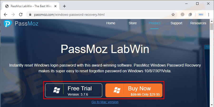 Get another PC and download PassMoz  Windows Password Recovery. Install it on a computer and insert it into a USB or CD at the same time.
