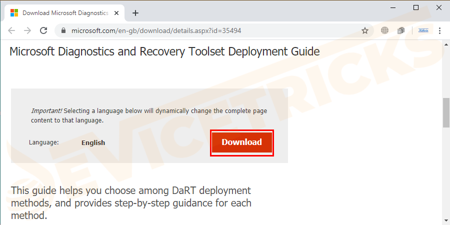 Get the latest version of diagnostics and recovery toolset. You can create a recovery CD using ERD commander boot wizard-based upon WinPE or obtain the CD from the local IT.