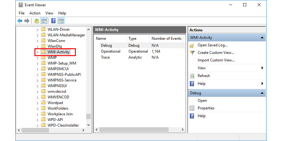 Identify and Troubleshoot Manually to Fix WMI Provider Host High CPU Usage error