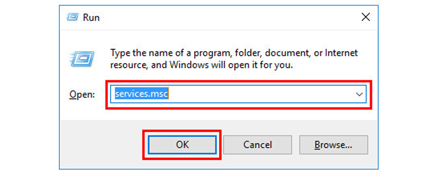 enter 'services.msc' to fix WMI Provider Host High CPU Issue