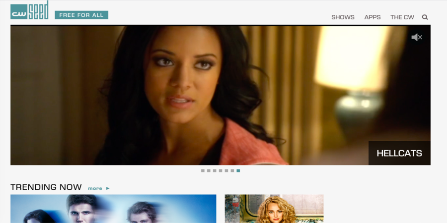 CW Seed- The best site to watch TV shows Online for free