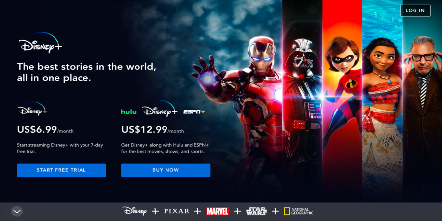 Disney+. Sites to Watch TV Shows Online For Free[Full Episodes]