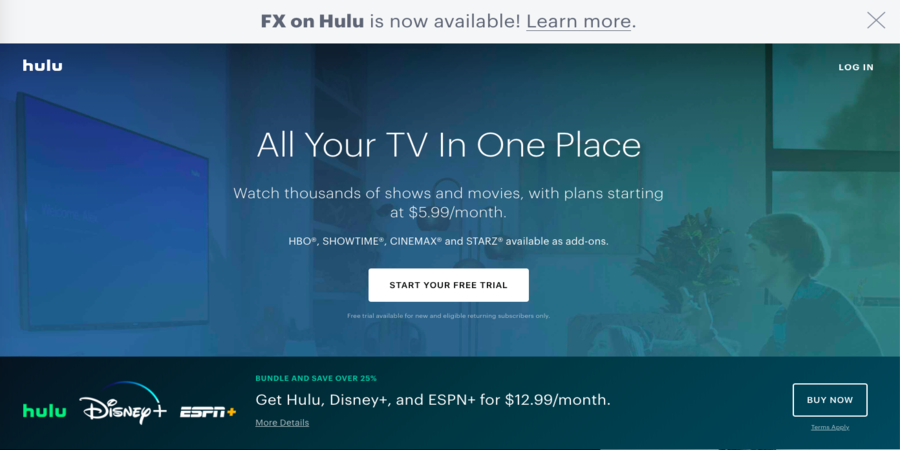 [Hulu Plus] Sites to Watch TV Shows Online For Free[Full Episodes]