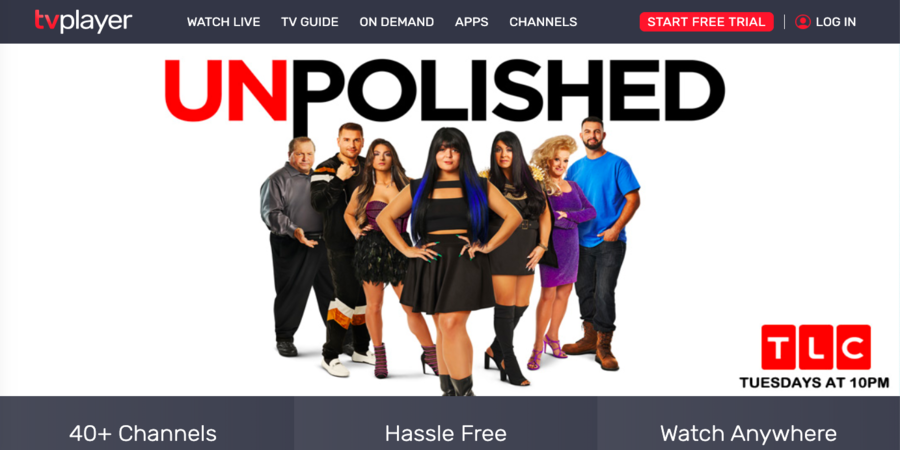 watch tvplayer to stream tv series online for free