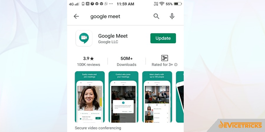 Google Meet is expected to allow its user to blur baackground for video calls
