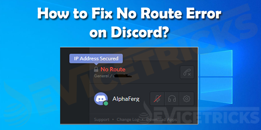 How Do I Fix Discord No Route Error?