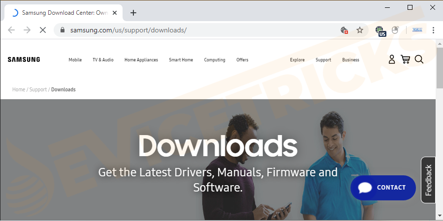 Here you need to visit the driver's manufacturer website then download the essential drivers. Check if the downloaded file is compressed> then extract the driver file.