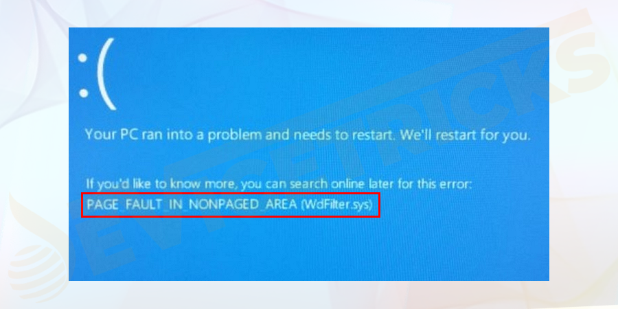 What is PAGE FAULT IN NONPAGED AREA Windows 10 Error?