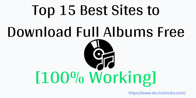 Best Sites to Download Full Albums Free