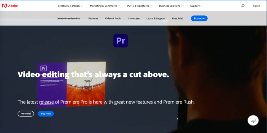 Adobe premiere pro- Best Video editing Software Professional