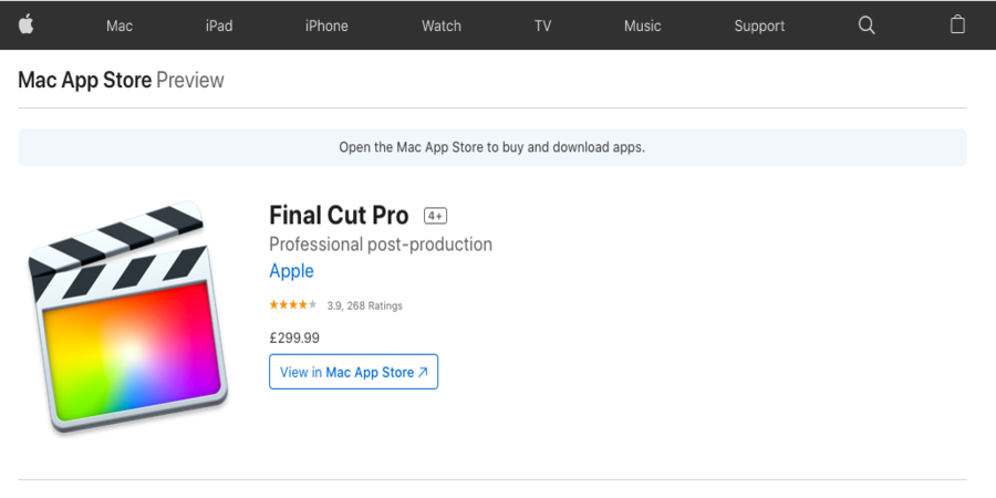 Final Cut Pro X- Free Professional Video editing Software