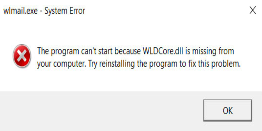 Wldcore.Dll Missing or Not Found Error